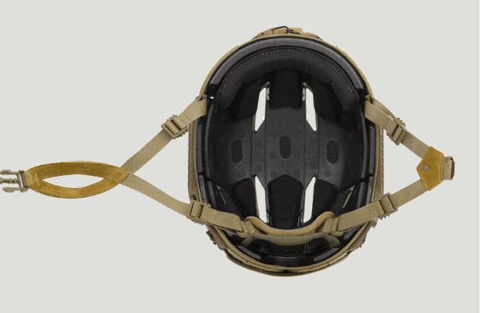 Capacete balístico de pele de carneiro Caiman 3