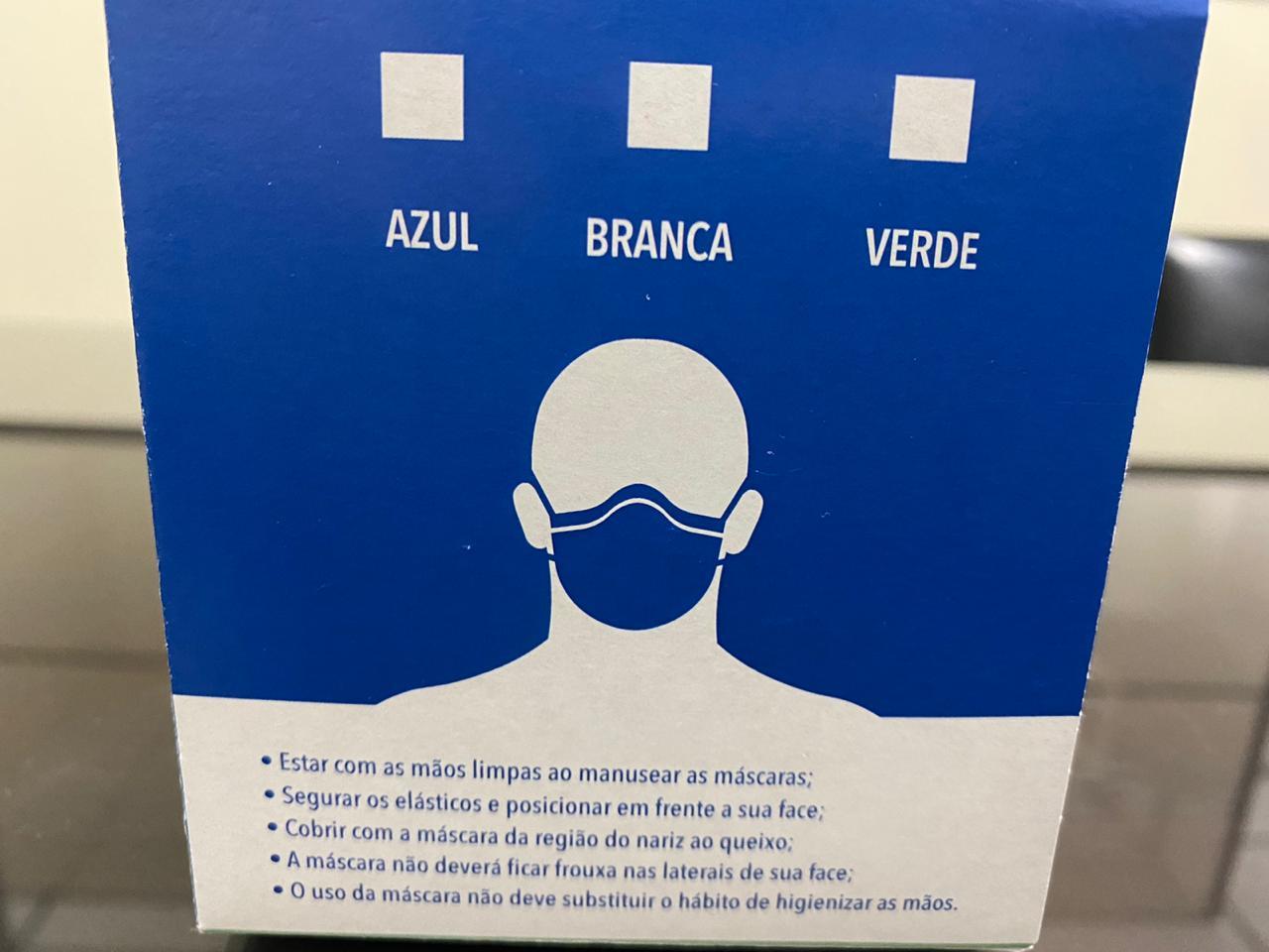Quartzo BCA Máscara Descartável 2