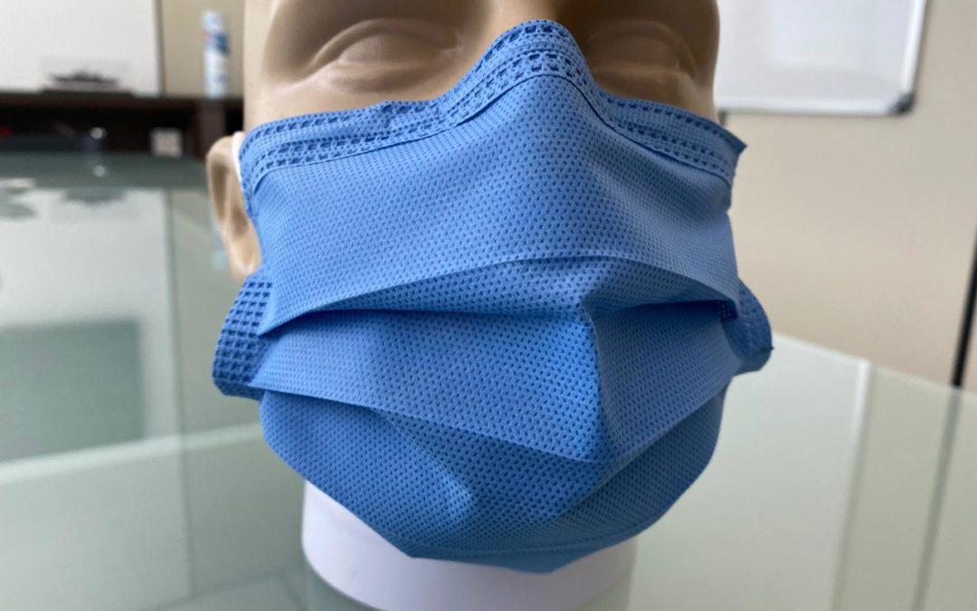 Máscara Cirúrgica Descartável