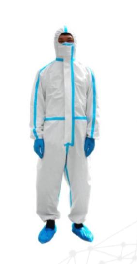 hytera roupa de proteção médica descartável 1