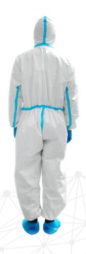 hytera roupa de proteção médica descartável 3