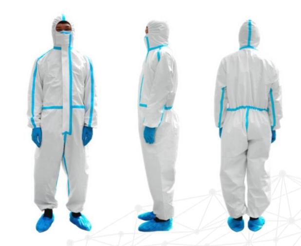 hytera roupa de proteção médica descartável 4