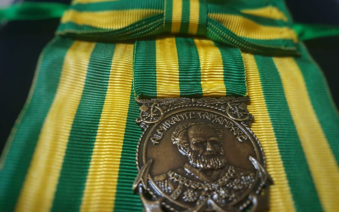 CBMDF recebe a Medalha Mérito Tamandaré