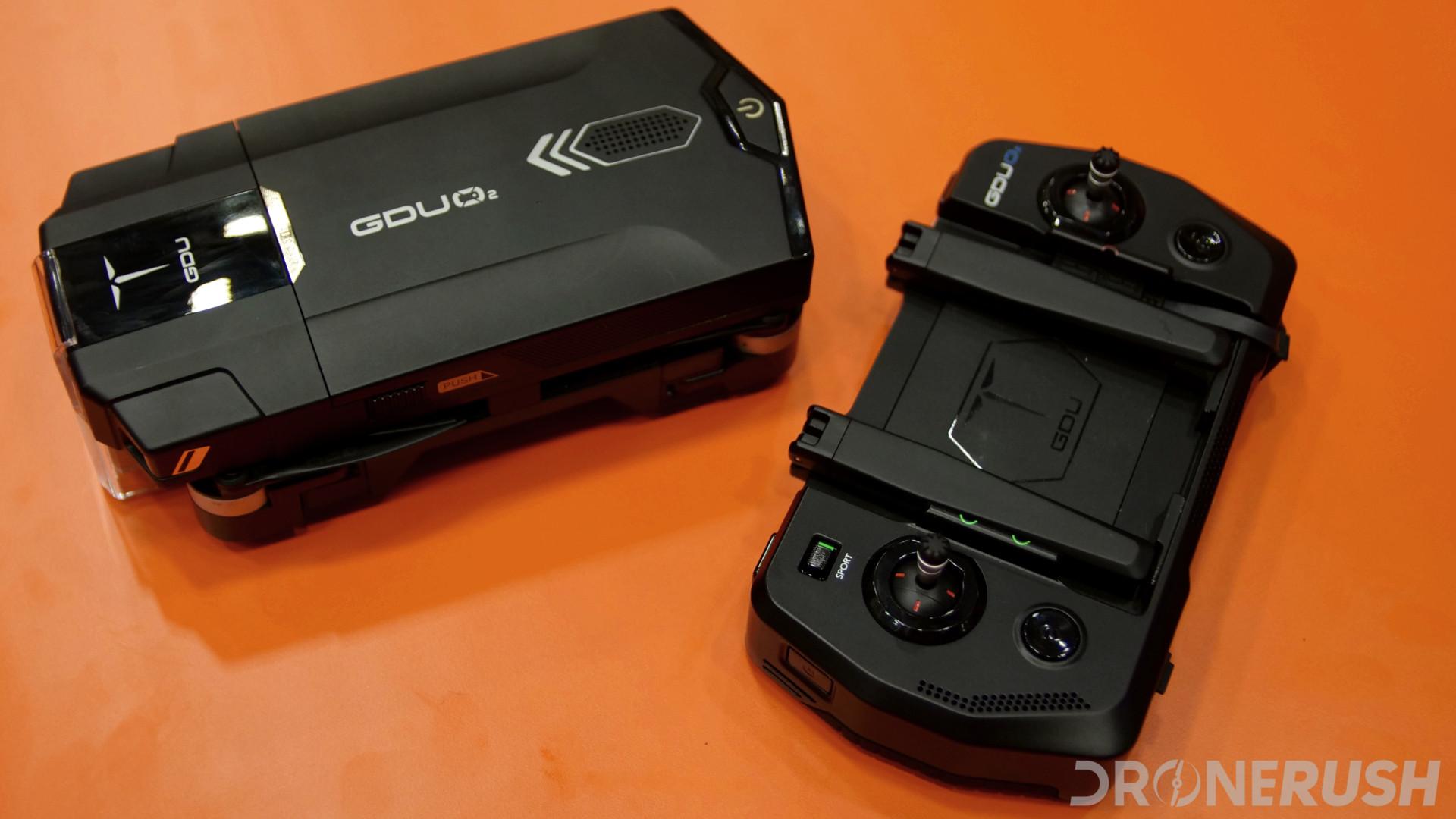GDU-O2-InterDrone-and-remote