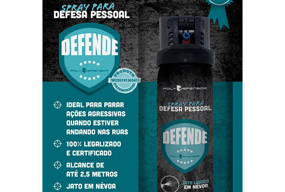 Spray para Defesa Pessoal